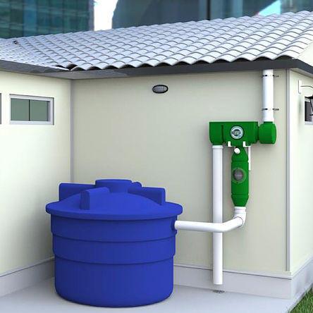 Equipamento para reúso da água de chuva