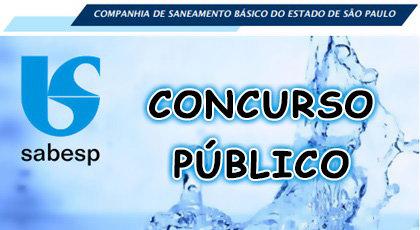 Concurso Público para Sabesp
