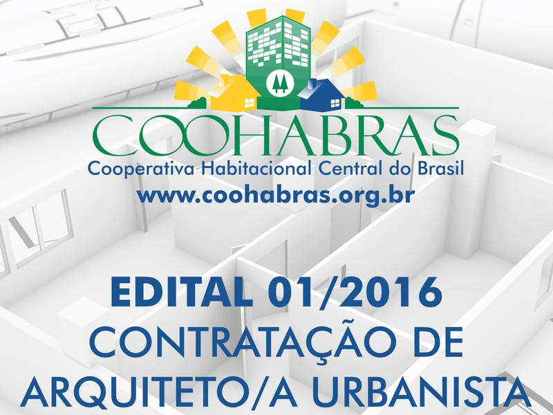 Coohabras contrata arquiteto (a) urbanista