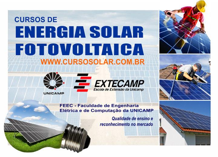 Curso de Energia Solar Fotovoltaica - FEEC - UNICAMP
