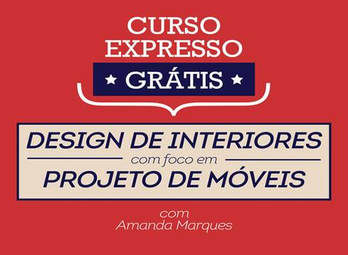 Curso de Design de Interiores Expresso e Grátis