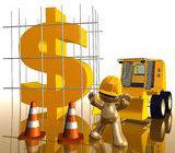 Dinheiro x Construção Civil