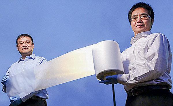 Película para telhado permite redução de temperatura ambiente.