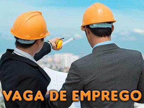Vaga de Emprego para Engenheiro Civil