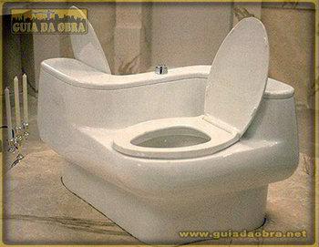 Vaso sanitário duplo